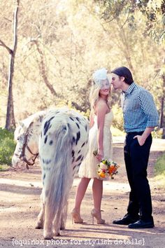 On Trend: An Equestrian Chic Wedding  - Equinox Photo for Stylish Details