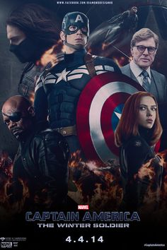 CAPTAIN AMERICA : THE WINTER SOLDIER (2014) - an entertaining action film as well as an interesting conspiracy-espionage thriller.