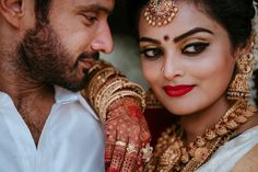 """Photo from album """"Wedding photography"""" posted by photographer Sibin Jacko Lovely Girl Image, Girls Image, Wedding Photoshoot, Wedding Shoot, Bridal Make Up, Wedding Make Up, Bun Hairstyles, Wedding Hairstyles, Red Lip Makeup"""