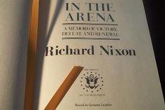 President Richard Nixon title http://www.leatherboundtreasure.com/president_books/Richard_Nixon.html