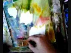 ▶ watercolor demonstration of poppies - YouTube