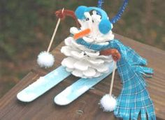snowman craft | Art Design and Craft