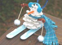 snowman craft | Art Design and Craft