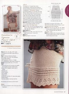 knitting skirt FREE PATTERN ♥ 3000 FREE patterns to knit ♥ http://pinterest.com/DUTCHYLADY/share-the-best-free-patterns-to-knit/