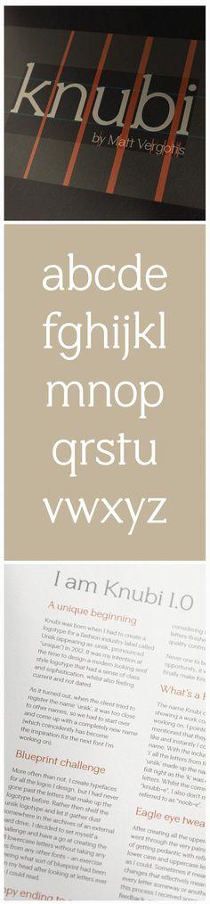 Knubi font (free)
