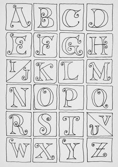 How to draw calligraphy doodles doodle alphabet, alphabet drawing, doodle art letters, how Hand Lettering Alphabet, Doodle Lettering, Creative Lettering, Lettering Styles, Doodle Alphabet, Doodle Fonts, Graffiti Alphabet, Brush Lettering, Alphabet Drawing