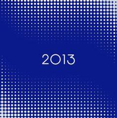 """Cartes de voeux - modèle """"Platinium"""" 2013 (argent à chaud sur papier coloré) © COPY-TOP"""