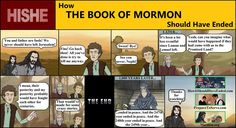 This is probably the best Book of Mormon meme I've ever seen. How it Should Have Ended