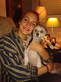 Ana. Mi perra que para mi es como mi hermana.  Amo los animales.