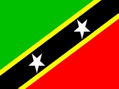 Flag of St. Kitts & Nevis.