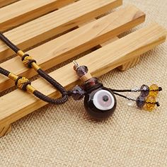 Amazon.com: Essential Oil Perfume Bottle Necklace Evil Eye Vial Diffuser Pendant Chain Necklace 1 Pc: Jewelry