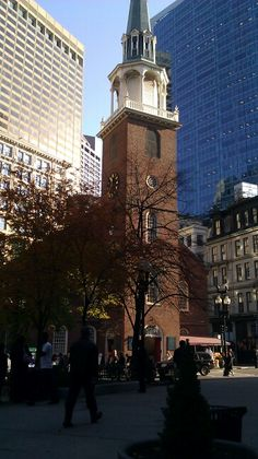Old South Meeting House,  Washington and Milk Streets