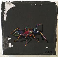 Little Ant by JJHowardFineArt on Etsy