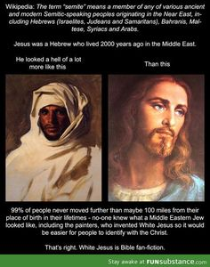 """White"" Jesus is Bible fan-fiction"