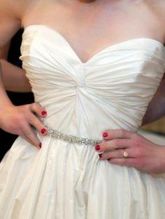 amsale makenzie | Amsale Mackenzie Wedding Dress – OnceWed.com