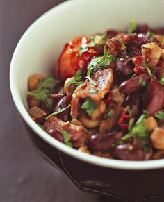Mexikaanse rooibone en spek  | SARIE | Mexican red beans and bacon