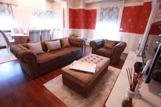 Chesterfield, Couch, Curtains, Furniture, Home Decor, Blinds, Decoration Home, Room Decor, Sofas