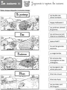 DDM CE1 : Dossier sur les saisons - Chez Lutin Bazar