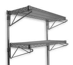 Storelogic 2HGH1 Wall Shelving, H 34 In, W 48 In, D 18 In, SS by Storelogic. $731.97. Industrial Wall Shelving, Height 34 In, Width 48 In, Depth 18 In, Shelf Capacity 250 Lbs, Wire Material, Type 304 Stainless Steel Finish, Standards NSF, Includes 2 Shelves and Post Mount Kit