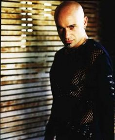 David Draiman (Disturbed - Lead Singer) In this picture, he looks exactly like my son...disturbingly disturbing