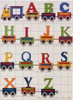 grilles gratuites alphabet