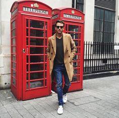 ZARA coat | Topman jeans | Aldo shoes | iamgalla.com