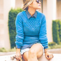 Lilly Pulitzer Penelope Pullover Sweater styled by @melllypace
