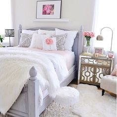 Bedroom Ideas, Bedroom Decor, Dream Rooms, Girl Rooms, Quilt, Bedrooms,  Comment, Room Decorations, Guest Rooms