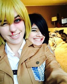 She's a cinnamon roll xD  Mikasa: Me Armin: @sky_cos  #mangacosplay #manga #animecosplay #anime #attackontitan #attackontitancosplay #shingekinokyojin #shingekinokyojincosplay #snk #snk #aot #aotcosplay #arminarlert #mikasaackerman #attackontitanarmin #attackontitanmikasa #cosplay #cosplayer #cosplaying #cosplaygroup #cosplayselfie #mikasa #armin #mikasaackermancosplay #arminarlertcosplay #mikasacosplay #armincosplay