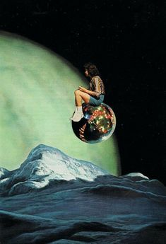 """""""i will forever be colliding with a billion unnamed undiscovered stars, each of us on our own orbital paths. Surreal Collage, Collage Art, Surreal Artwork, Photomontage, Street Art, Retro Futurism, Psychedelic Art, Pics Art, Art Plastique"""