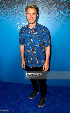 Singer Gary Barlow attends 'Carpool Karaoke: The Series' On Apple Music Launch Party at Chateau Marmont on August 7, 2017 in Los Angeles, California.