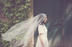 Beautiful Veils and Bridal Hair Adornments from Elibre Handmade