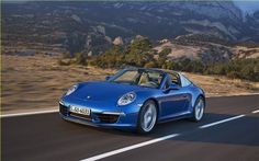 Porsche has introduced two new models to the 911 range - the 911 Targa 4 and 911 Targa 4S at the 2014 North American International Auto Show.