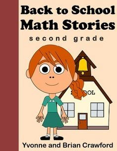 Back to School Math Stories for Second Grade $