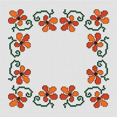 Cross Stitch Borders Floral Border, free cross stitch pattern from Alita Designs - Cross Stich Patterns Free, Cross Stitch Boarders, Cross Stitch Rose, Cross Stitch Flowers, Modern Cross Stitch, Cross Stitch Designs, Cross Stitching, Cross Stitch Embroidery, Embroidery Patterns