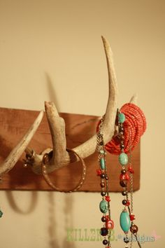 Antler Jewelry Rack...so cool
