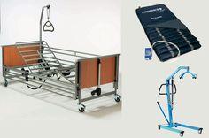 Hospital Bed Ripple Mattress+Hydraulic Hoist 140kg - Malta Rentals Directory Product By Unicare Ltd