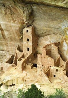 Mesa Verde National Park, Colorado. ★ With over 5,000 ancient Pueblo ruins that date back to 600 A.D.