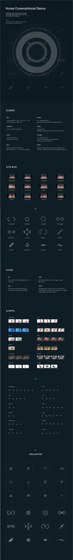 Jeong GyeongMin | Korea Contempitional Dance (contemporary + traditional) | Information Visualization 2016│ Major in Digital Media Design │#hicoda │hicoda.hongik.ac.kr