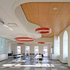 Office ceilings Metal Armstrong Ceilings Europe On Instagram nestled In Quiet French Commune Mairie De Tosse Is Bright And Welcoming Town Hall Reflective Of Its Pinterest 248 Best Ceilings For Offices Images In 2019 Metal Ceiling Office