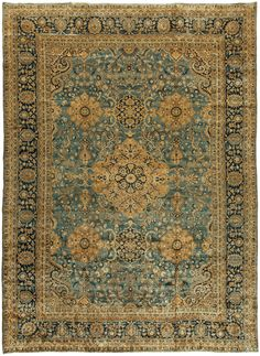 Antique Persian Tabriz Rug, Doris Leslie Blau