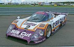jaguar jxr9 lm v12 race car