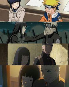 NaruHina,their love's evolution Naruto Uzumaki Shippuden, Naruto Kakashi, Anime Naruto, Naruto Comic, Wallpaper Naruto Shippuden, Naruto Cute, Boruto, Hinata Hyuga, Otaku Anime