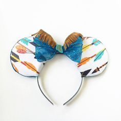 Pocahontas Mickey Ears, Disneybound Mickey Ears