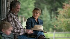 Shown Sunday 10/29/2016 1005 - Heartland Jack and Lisa discussing Lisa's aunt Evelyn coming to visit.