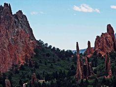Garden of the Gods Colorado Springs--I will live in or around Colorado Springs at some point in my life!