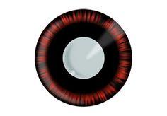 Red Manga Eyes - $23ish - Plano only