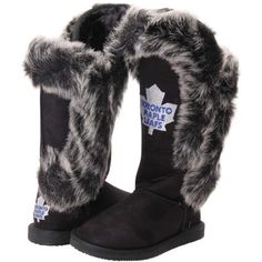 Women's Toronto Maple Leafs clothing is at the Official Online Store of the NHL. Browse NHL Shop for the latest womens gear and hockey clothing, including Maple Leafs Plus Size apparel. Nhl Shop, Women's Hockey, Hockey Stuff, Toronto Maple Leafs, Ugg Boots, Black Boots, Victorious, Fashion Shoes, Blue And White