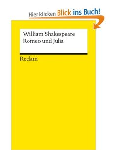 Romeo und Julia: William Shakespeare