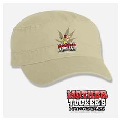 Mother Tucker's Munchibles™ - Signature Khaki Painter's Cap